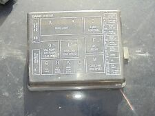 240sx fuse box cover saab 9000 under hood fuse relay box cover oem 46 66 665