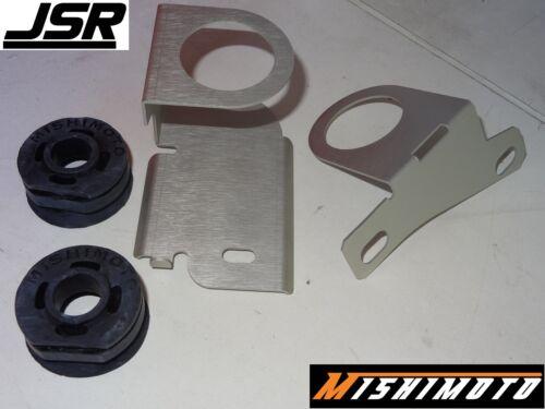 94-96 Mustang GT or Cobra Mishimoto Aluminum Radiator Stay Set Brackets