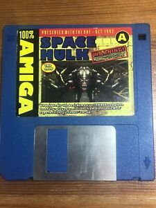The-One-Amiga-Magazine-cover-disk-Oct-1993-Space-Hulk-TESTED-WORKING