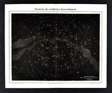 MP67 Vintage 1700 Zodiac Astronomy Constellations Celestial Map Poster A1//A2//A3