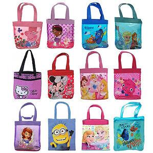 Disney Kids Character School Ping Per Tote Bags