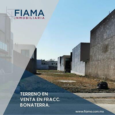 TERRENO EN VENTA EN FRACC. BONATERRA (FV) $5,250 X M2