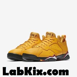 sports shoes 6f8d6 46fe0 Details about 2018 Nike Air Jordan 7 VII Retro Low NRG SZ 8-14 Taxi Yellow  OG VII AR4422-701