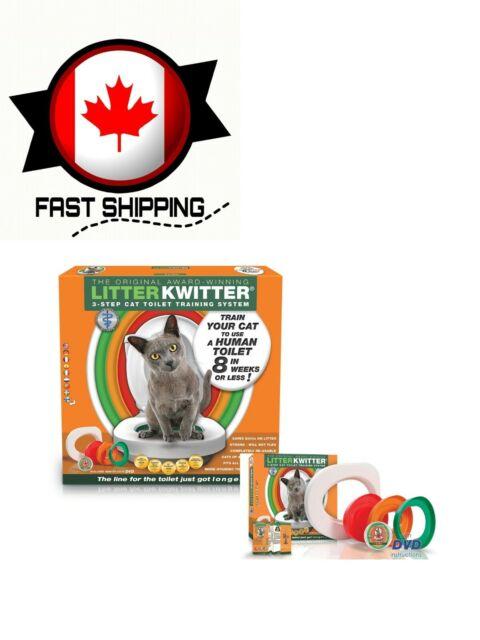 Litter Kwitter 9369999001797 Cat Toilet Training System