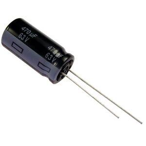 Elko Panasonic FR 470uF 63V Kondensator 105°C Low ESR same as FM 854464