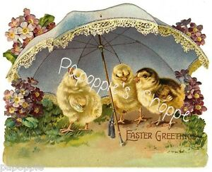 Vintage-Easter-Fabric-Block-Easter-Chicks-Umbrella