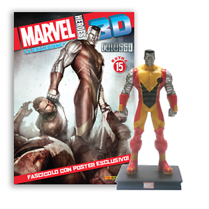 MARVEL HEROES 3D COLOSSO N°2 ACTION FIGURE NUOVO