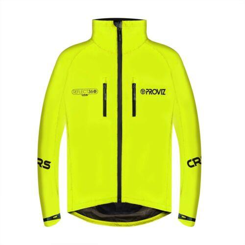 Proviz REFLECT360 CRS Men/'s Hi Viz Cycling Jacket Hi Visibility