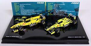 Minichamps 1/43 402 109900 Jordan Set 99/00 Jordan 199 Honda EJ10 Honda