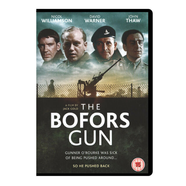 The Bofors Gun (1968) DVD, Classic War Film, Ian Holm, (Rare, New, Sealed)