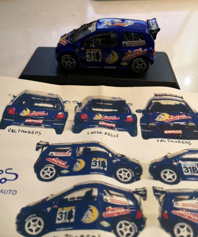 JPS 1 43 rally - KP178 RENAULT TWINGO PROTO Andros 1999