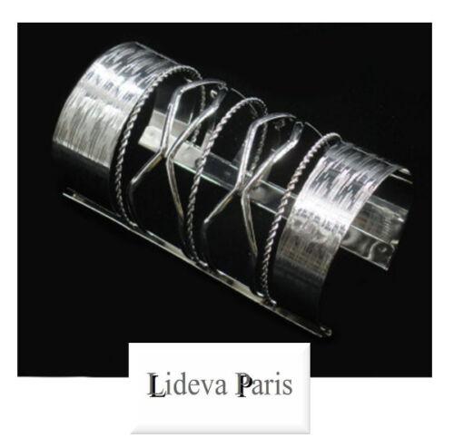 XXXL pulsera ancha brazalete metal parís armspange 120 mm Manchette