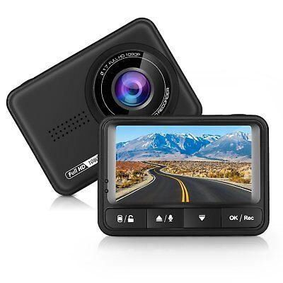 Auto Dash Cam Full HD 170 Grad Weitwinkel Dashboard Kamera Recorder Auto DVR mit
