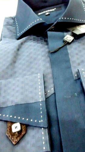 mouwen down shirt Bogosse Heren 3 pat geometrische ofmediumlange Nwt maat button OTPuZkXi