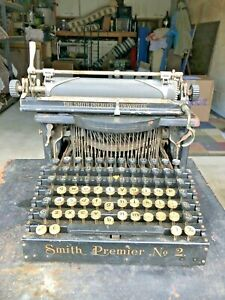 Smith Premier No. 2  Antique Typewriter serial nbr 88032  1905