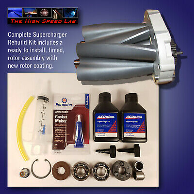 Toyota Tacoma 4runner T100 3 4 5vzfe Supercharger Rebuild Kit Trd Eaton M62 Gen3 Ebay