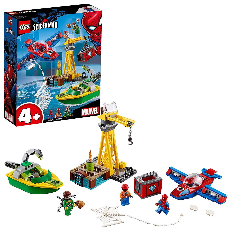 súper Heroes Spider-Man  la Rapina di Diamanti di Doc Ock,  76134