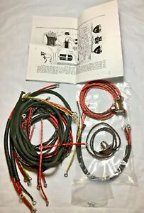 Details about Harley 1930 VL DL Wiring Harness Kit w/ Wired Switches on