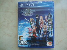 Sword Art Online : Hollow Realization (2016, PS4) Korean Edition / Package