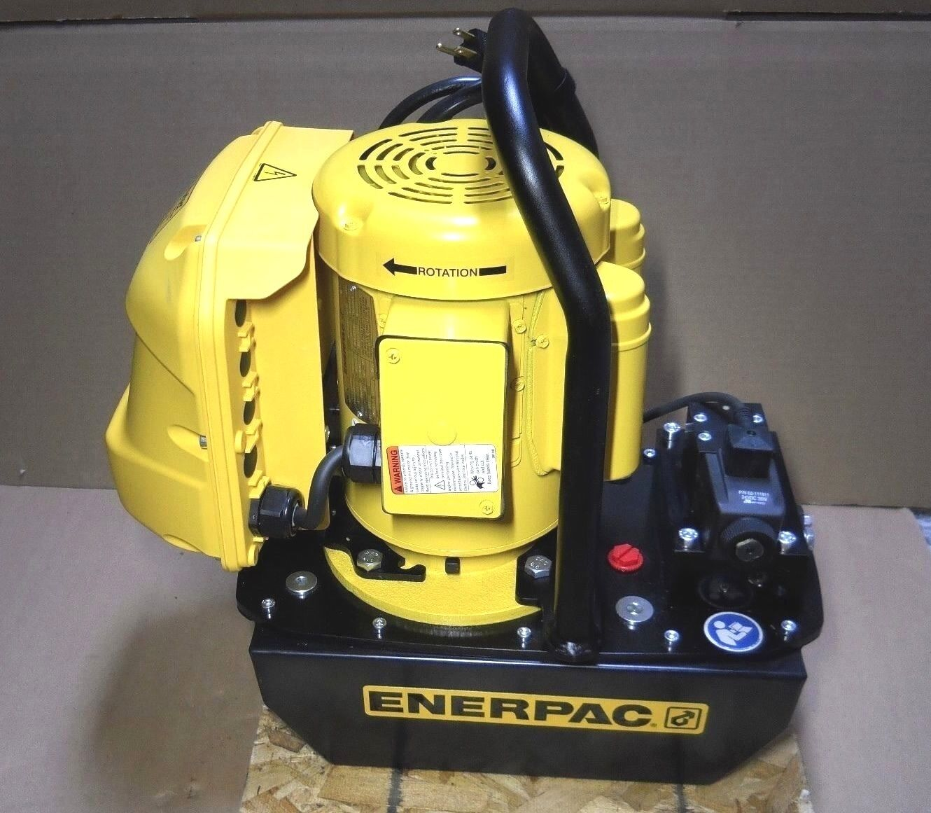 Hk Porter Enerpac Hke0751a Electric Hydraulic Pump 1 Hp Max Psi 7800 Wiring Diagram Norton Secured Powered By Verisign