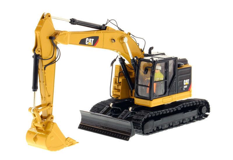 Caterpillar 1 50 Scale Diecast 335 F L Pelle hydraulique Véhicule Modèle De Voiture Jouet