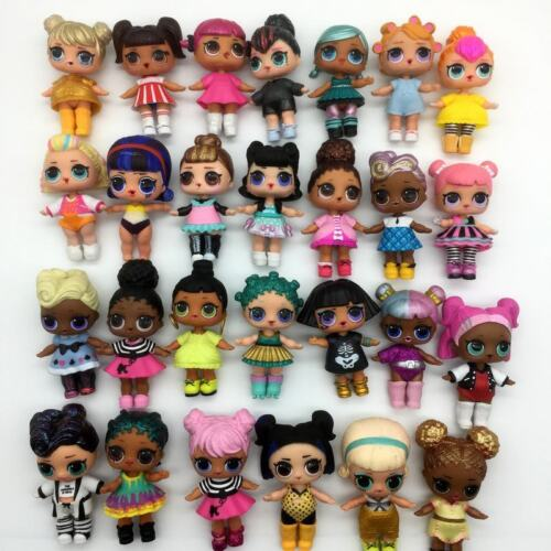 RANDOM 10Pcs LOL Dolls bundle Surprise Queen Bee Kitty Queen /& outfit party toy