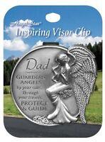 Angelstar E7 Car Travel Inspiring Visor Clip Guardian Angel – Dad 15681