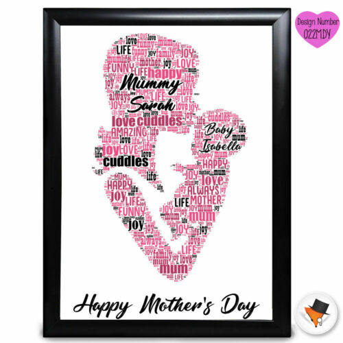 Personalised Mum Daughter And Son Present Mothers Day Gifts Mummy Birthday