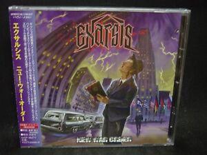 EXARSIS New War Order + 2 JAPAN CD Mallediction Embrace Of Thorns Greece Thrash  4571139013606