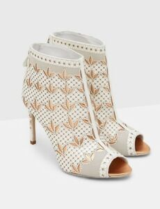 Baker coup authentique Bnwtb 100 bottines Ted blanches BYwppq5Rn