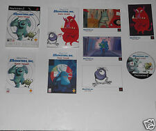 MONSTERS INC SCARE ISLAND PLAYSTATION 2