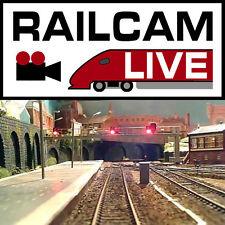 RailCam -  Live train wireless video camera system. Railroad. Model Railway.