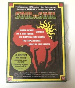 Soul-to-Soul-DVD-amp-CD-set-Legendary-1971-Concert-Rhino-Edition-All-Regions