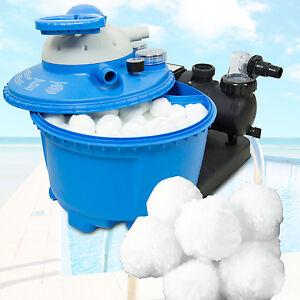 filter balls 700g f r sandfilter alternativ zu 25 kg filtersand quarzsand pool ebay. Black Bedroom Furniture Sets. Home Design Ideas