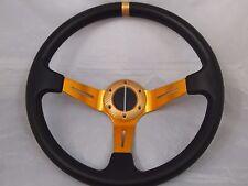 Ez-go POLARIS Ranger steering wheel golf cart W/ Adapter COLUMBIA CLUB CAR GOLD