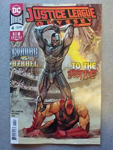JUSTICE-LEAGUE-ODYSSEY-4a-2019-DC-Universe-Comics-VF-NM-Book