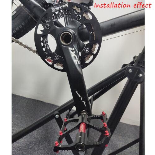 30-42t 104bcd MTB Road Bike Narrow Wide Crankset Crank Pedeal Chainring Guard