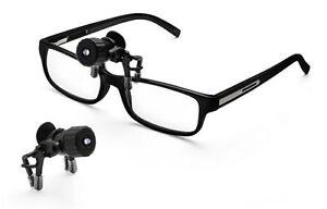 b39835c74a Battery Power Clip-On LED Spotlight Reading Lamp Torch for Glasses ...
