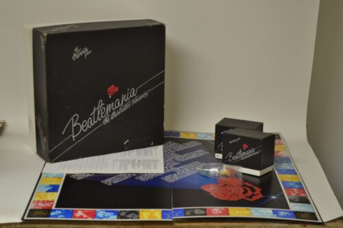 1984 ORIGINAL BEATLEMANIA THE ILLUSTRATED TREASURY THE TRIVIA GAME COMPLETE