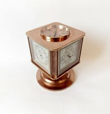 Rare 1930s SWISS Angelus METEO Swiss made 5 Functions Art Deco Style copper