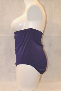 Swimsuits-for-All-Slimming-Control-High-Waist-Swim-Bikini-Bottom-Purple-22W-22