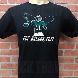 593af021 Details about PHILADELPHIA EAGLES CARSON WENTZ ***FLY EAGLES FLY*** T-SHIRT