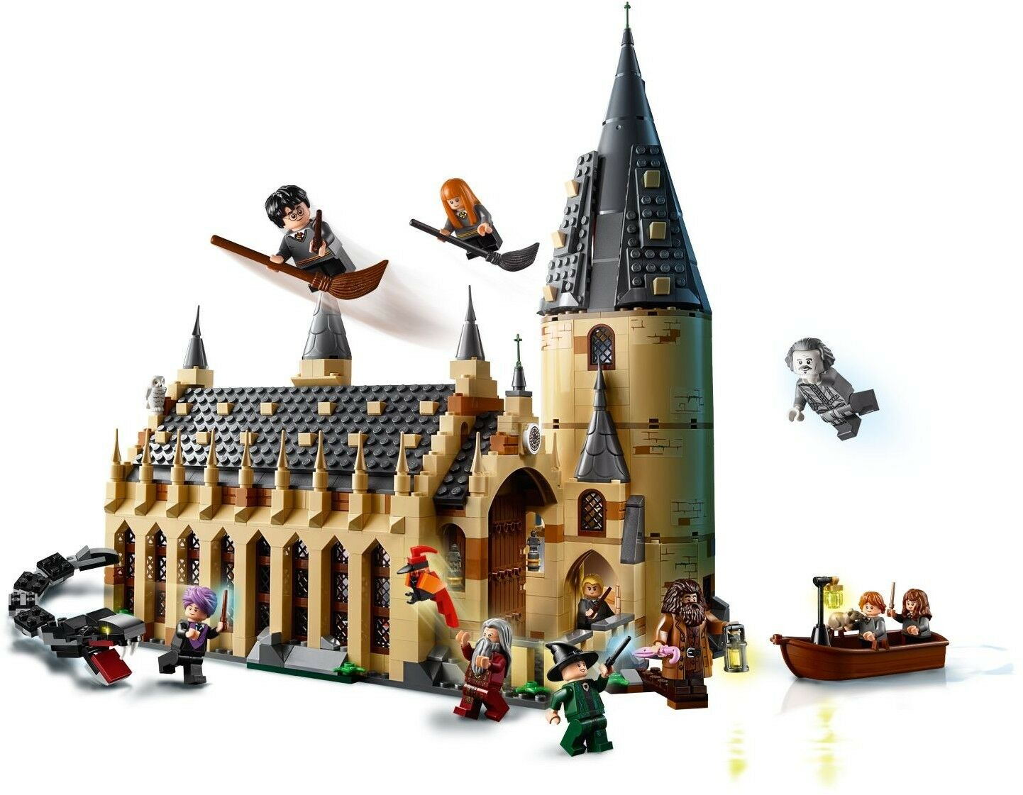 Harry Potter Hogwarts Great Hall 75954 Wizarding World 2018 Castle Best Price