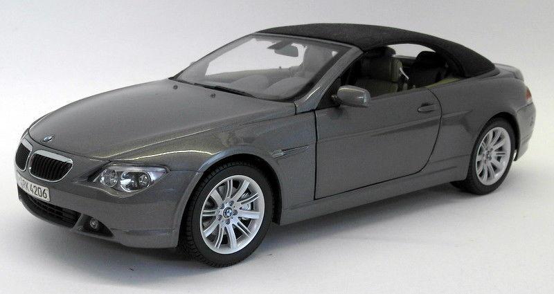 Kyosho 1 18 Scale Diecast - 80301538 BMW 6 serier Congrönible grå
