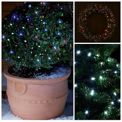 BRIGHT SELV LED FAIRY LIGHTS 50/100/200 - INDOOR / OUTDOOR - TIMER - CHRISTMAS