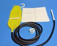 Traveling Fold-up Enema Bag / Douche W/storage Pouch / Black