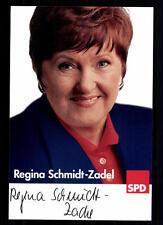 Regina Schmidt Zadel Autogrammkarte Original Signiert ## BC 29770