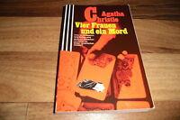 Agatha Christie -- VIER FRAUEN und ein MORD/Scherz-Krimi mit Hercule Poirot 1985