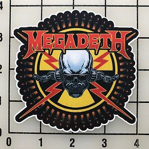 MEGADETH-Large-4-034-Multi-Color-Vinyl-Decal-Sticker-Bogo