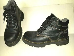 Nice-Black-DR-MARTENS-Tacoma-Size-9-Lace-Up-Boots